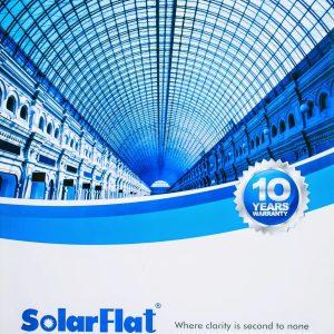 Tấm lợp lấy sáng Polycarbonate đặc ruột Indonesia SolarFlat