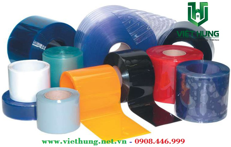 Màu sắc đa dạng của rèm nhựa pvc ngăn lạnh