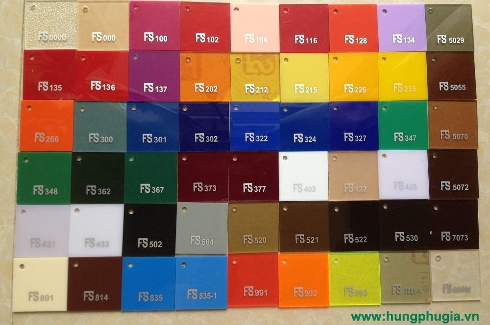 Tấm nhựa mica fs fusheng đài loan giá rẻ tại Tp.HCM