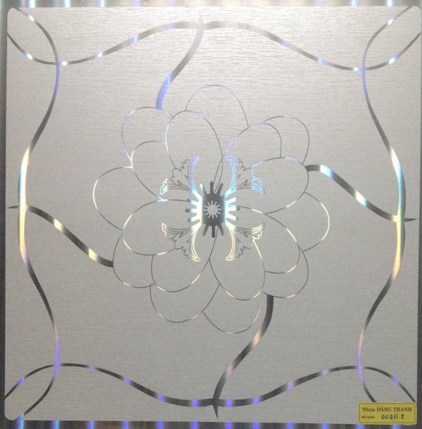 Tấm trần nhựa thả 600×600-6020-2