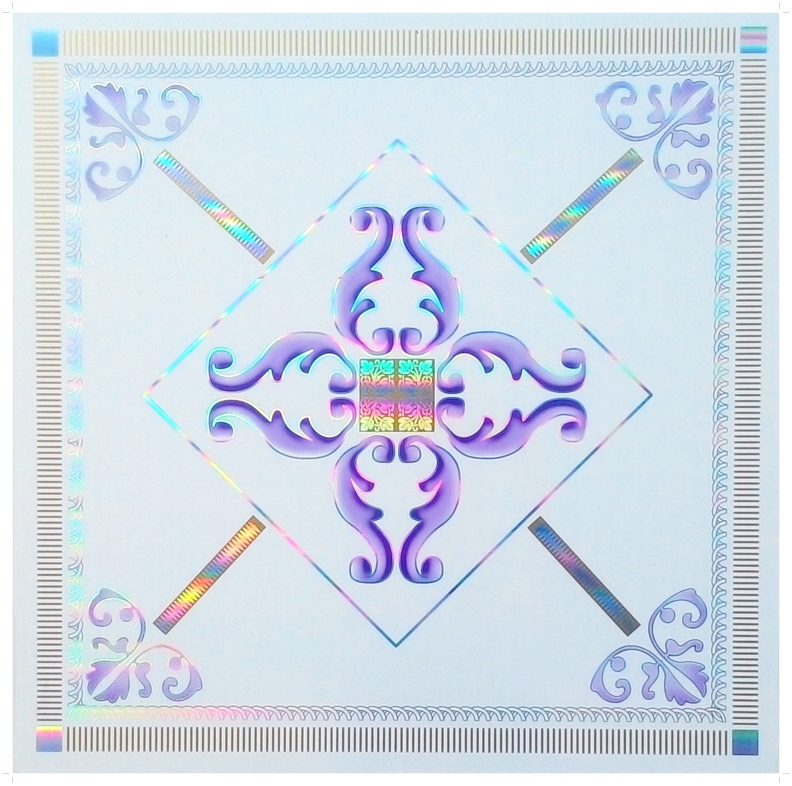 Tấm trần nhựa 600x600- 6519-2