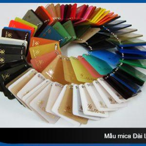 Bảng màu tấm nhựa mica chochen đài loan giá rẻ tại Tp.HCM