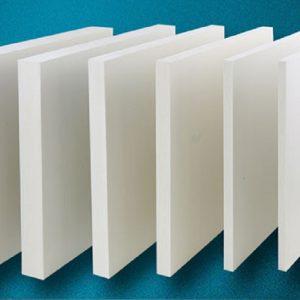 Tấm nhựa pvc foam Pima trắng sữa