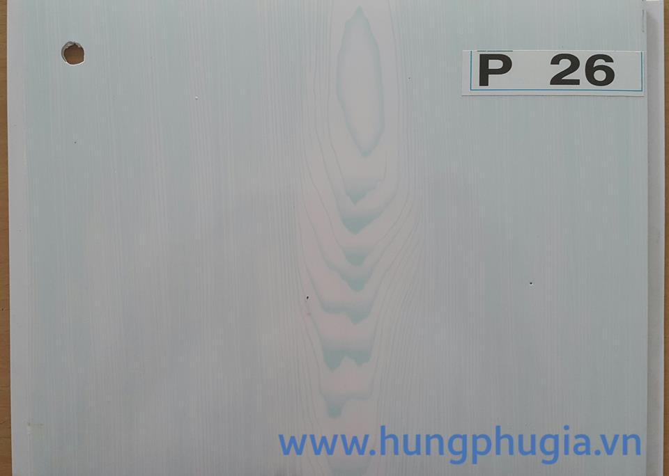 Tấm trần nhựa la phông 25cm p26
