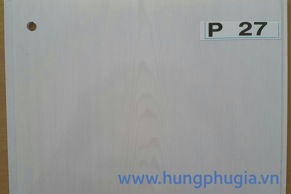 Tấm trần nhựa la phông 25cm p27