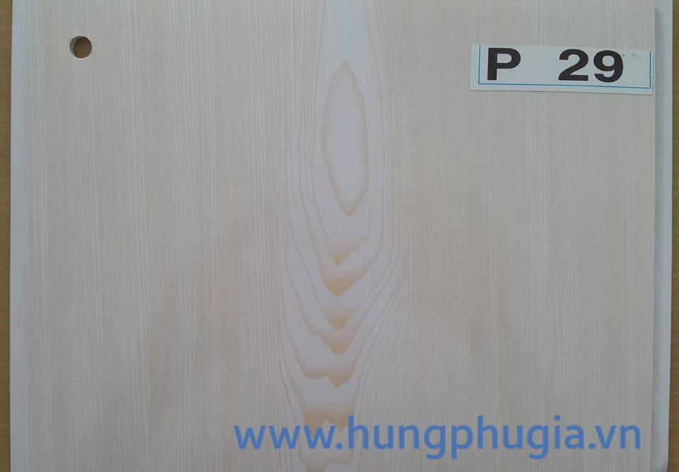 Tấm trần nhựa la phông 25cm p29