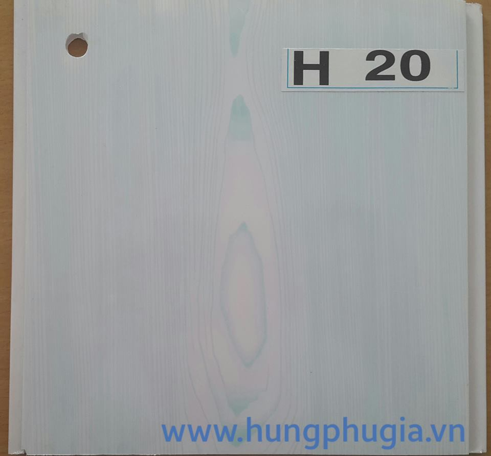 Tấm trần nhựa la phông 18cm h20