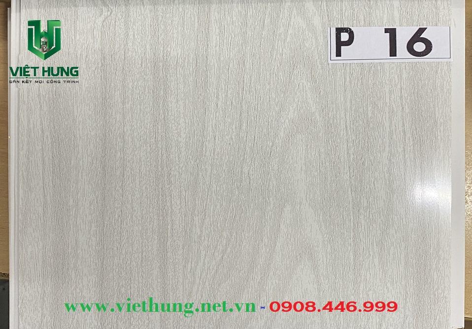 Tấm trần nhựa dài bản 25cm màu vân gỗ P15