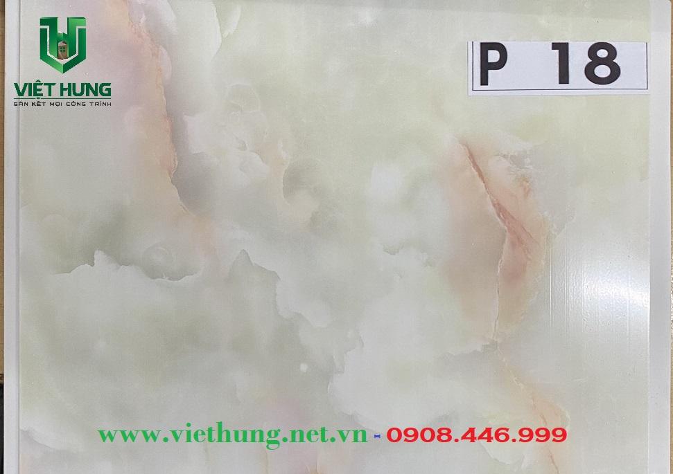 Tấm trần nhựa dài bản 25cm màu vân đá P18