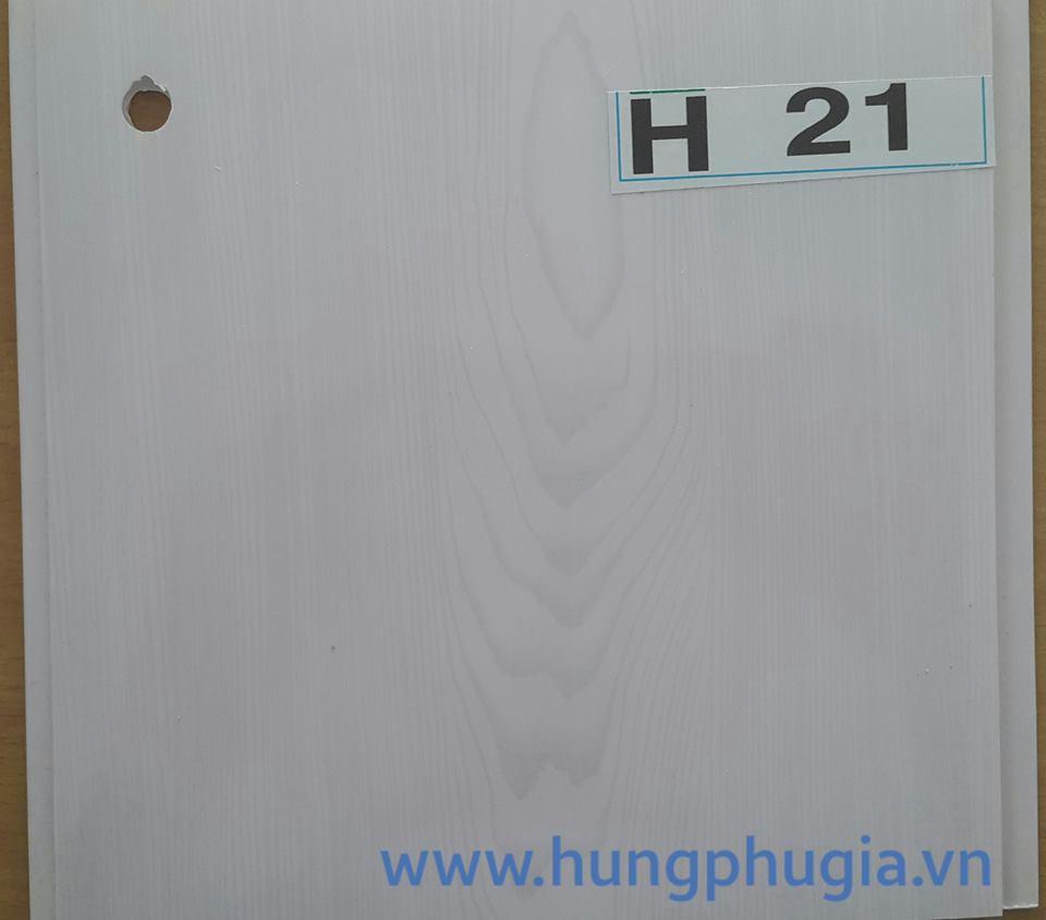 Tấm trần nhựa la phông 18cm h21
