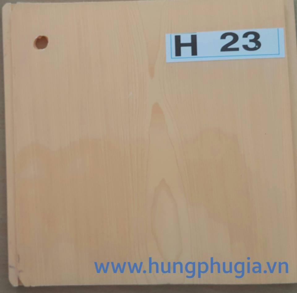 Tấm trần nhựa la phông 18cm h23