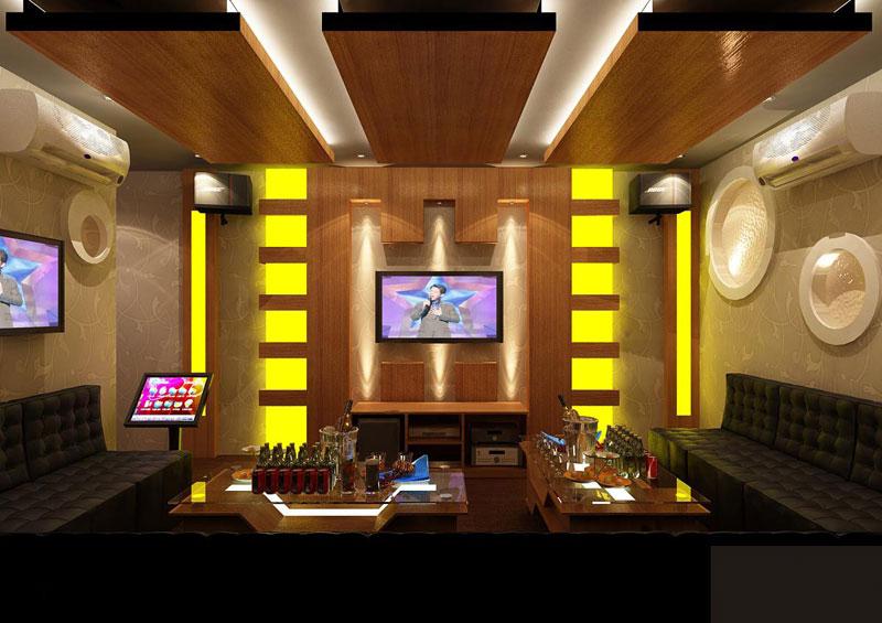 Ứng dụng bông khoáng cách âm phòng karaoke