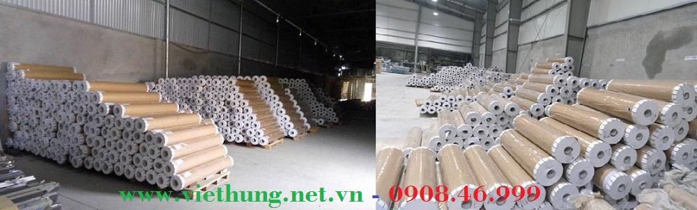 Kho cuộn màng nhựa pvc dẻo trong suốt giá rẻ Việt Hưng HCM