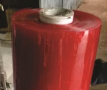 Màng nhựa pvc dẻo màu đỏ chống tia lửa hàn