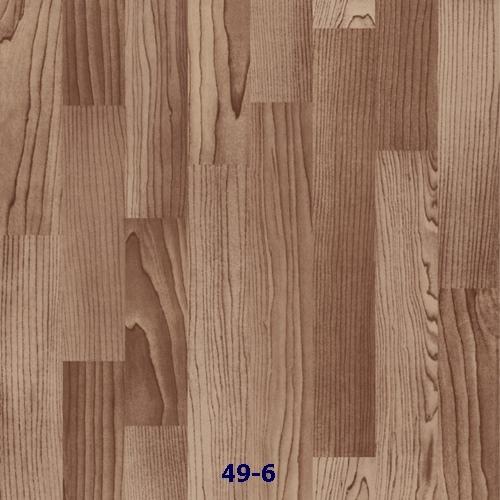 Simili trải sàn lót sàn loại mỏng vân gỗ 49-6