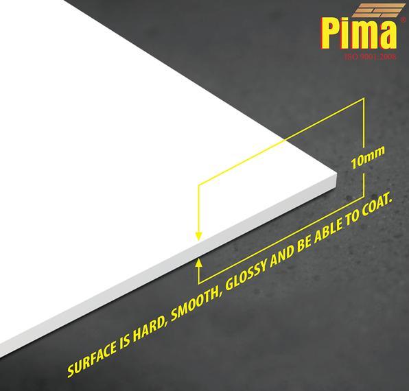 Tấm ván nhựa pvc Pima Foam cứng 10mm