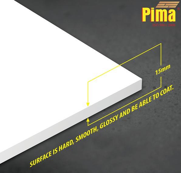 Tấm ván nhựa pvc Pima Foam cứng 15mm