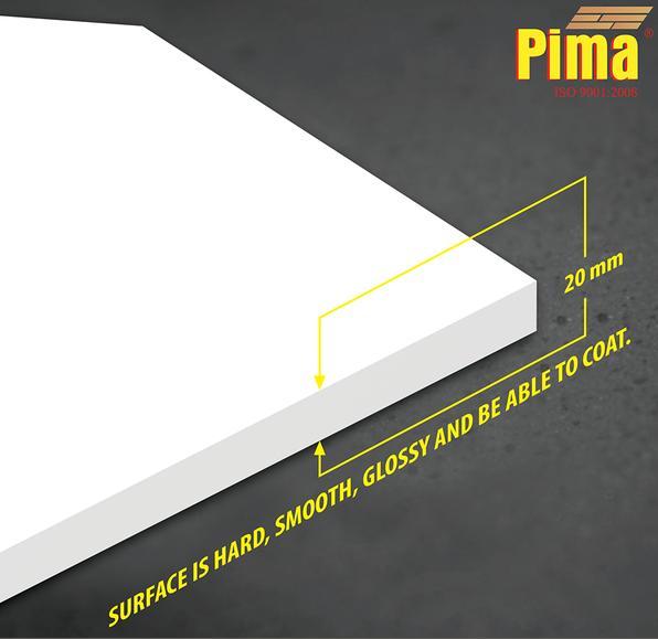 Tấm ván nhựa pvc Pima Foam cứng 20mm
