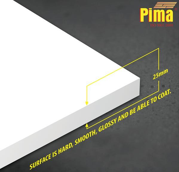 Tấm ván nhựa pvc Pima Foam cứng 25mm