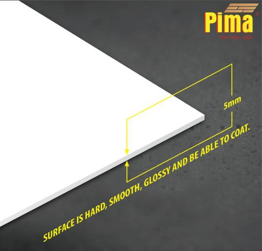 Tấm ván nhựa Pima PVC Foam Cứng 5mm