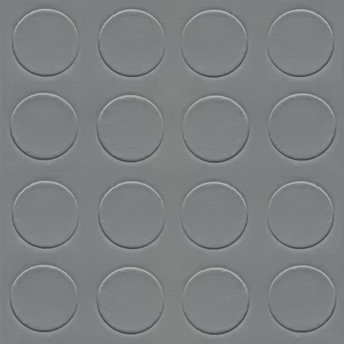 Simili trải sàn hình nút chống trơn trượt 1.2mm nút tròn xám lợt