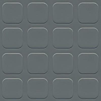 Simili trải sàn hình nút chống trơn trượt 1.2mm nút xám vuông SDG204