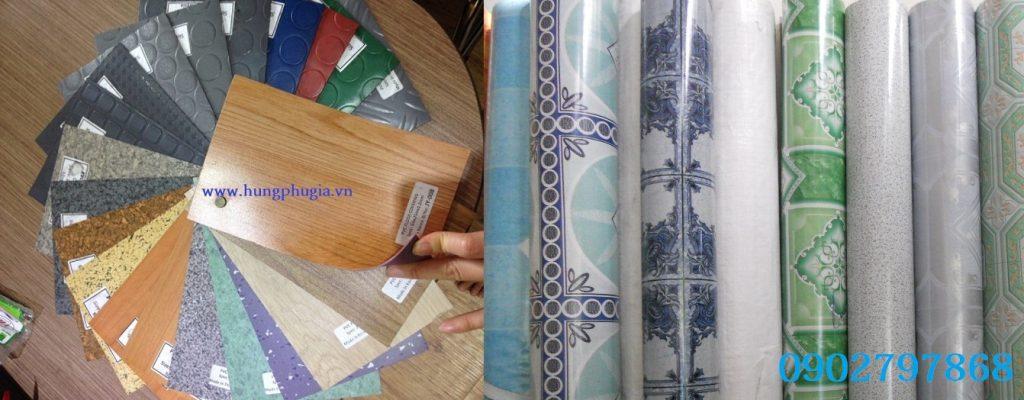Cuộn simili trải sàn nhà giá rẻ tại Tp.HCM