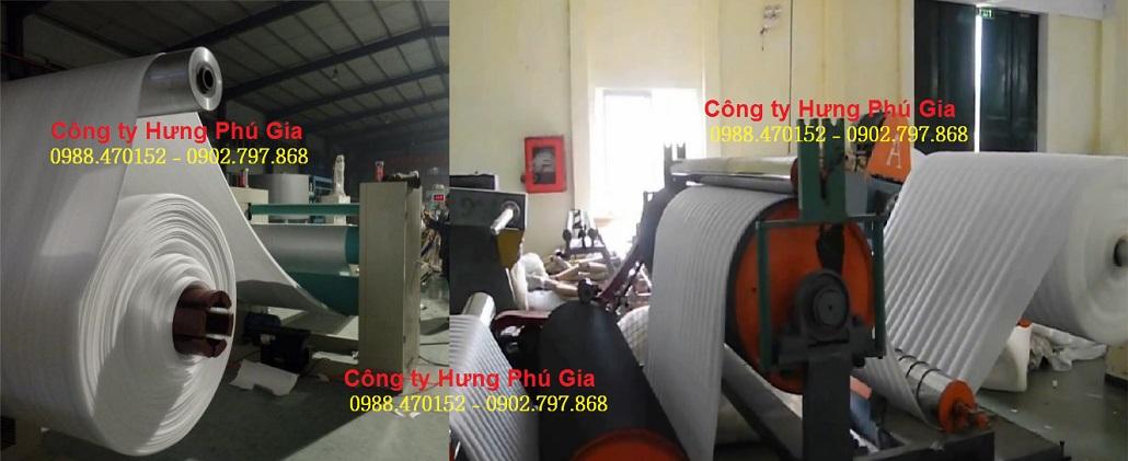 Công ty sản xuất cuộn màng xốp pe foam gói hàng