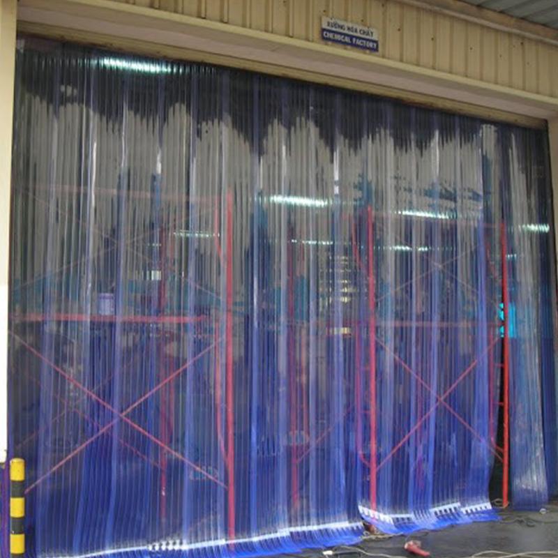 màn nhựa pvc cửa xe đông lạnh