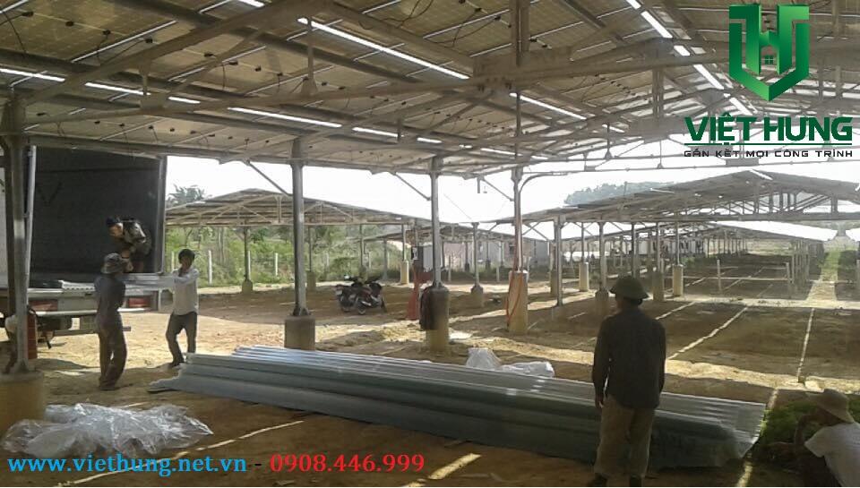 Nhà cung cấp tôn nhựa lấy sáng lợp bảo vệ tấm Pin điện năng lượng mặt trời giá rẻ