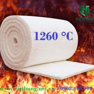 Bông gốm cách nhiệt Ceramic chịu nhiệt tới 1260 độ