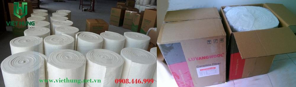 Kho hàng bông gốm Ceramic cách nhiệt cao tại Việt Hưng
