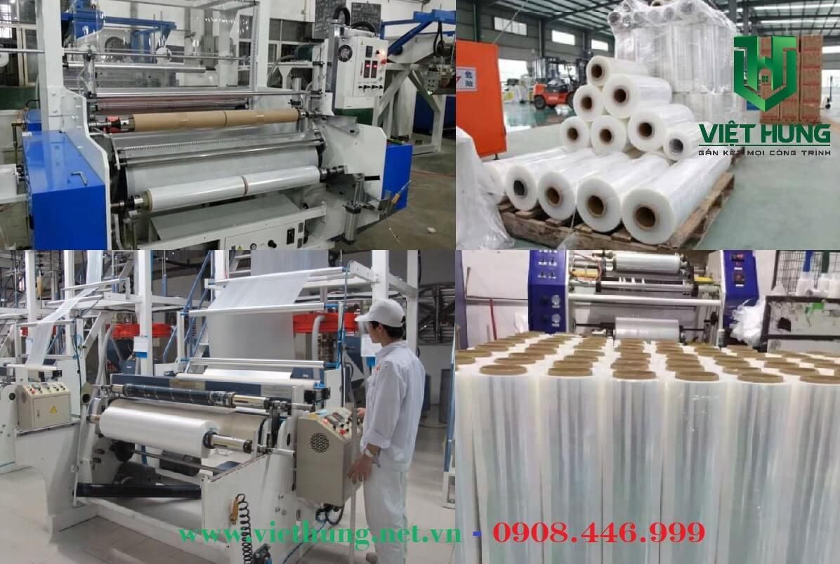 Nhà máy sản xuất màng Pe quấn Pallet