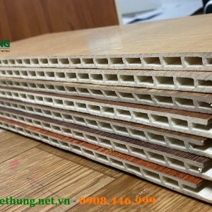 Mặt cắt tấm nhựa ốp tường vân gỗ Iwood
