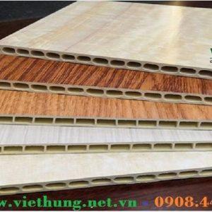 Hình ảnh tấm ván nhựa ốp tường vân gỗ