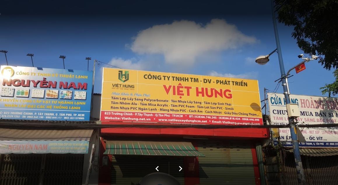 Văn phòng công ty Việt Hưng tại quận Tân Phú Tp.HCM