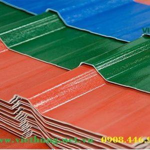 Hình ảnh tôn nhựa pvc asa 4 lớp