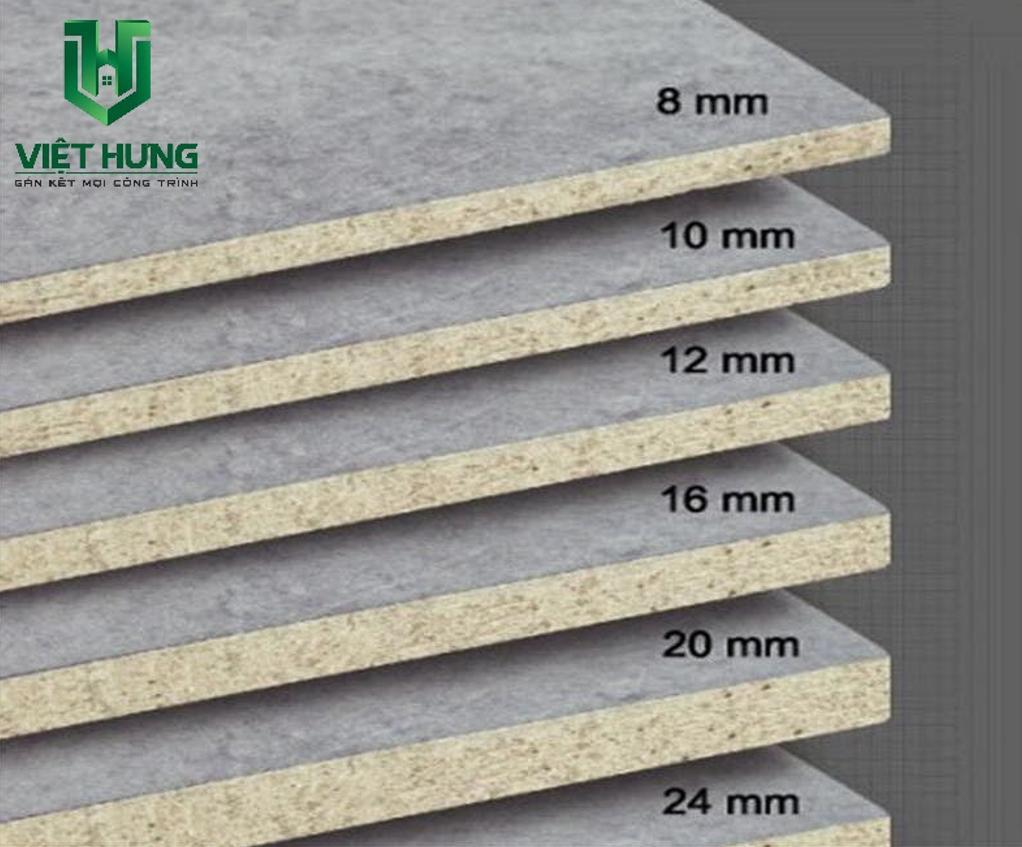 Tấm xi măng dăm gỗ Cemboard lót sàn thái lan