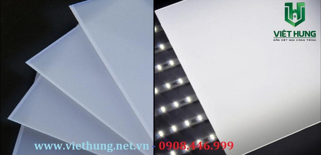 Tấm nhựa tản sáng Polycarbonate đèn led