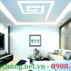 Tấm tản sáng poly trang trí đèn Led trần nhà